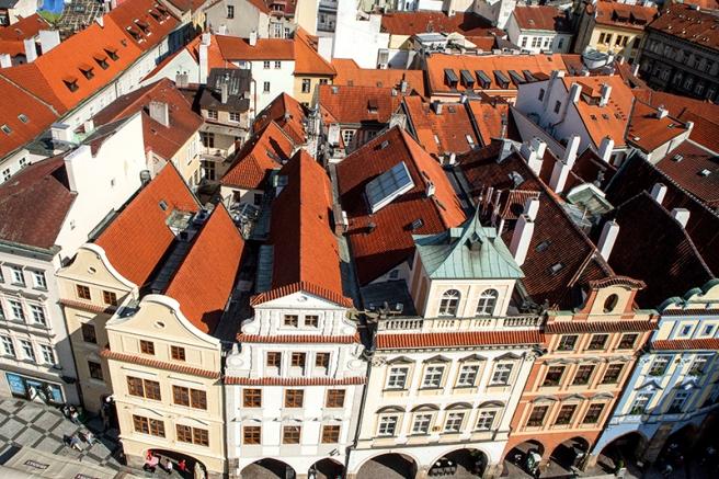 Reed Roofs of Prague, Urban exploration, Mayumi Acosta, Photographer Davis CA