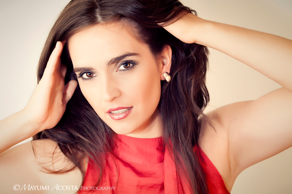 Beauty Portrait session with Jimena at Mayumi's studio in Davis Ca