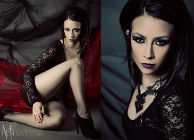 Studio Portrait shoot, fashion portrait style, women beauty session, makeup and hair session, Mayumi Acosta Photography, Davis, CA