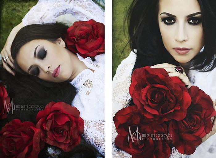 Vintage, PhotoShoot, Red Rose, Artistic Portraits, Photographer, Mayumi Acosta, Sacramento, CA, Flowers, Romantic Vintage, Photo Session