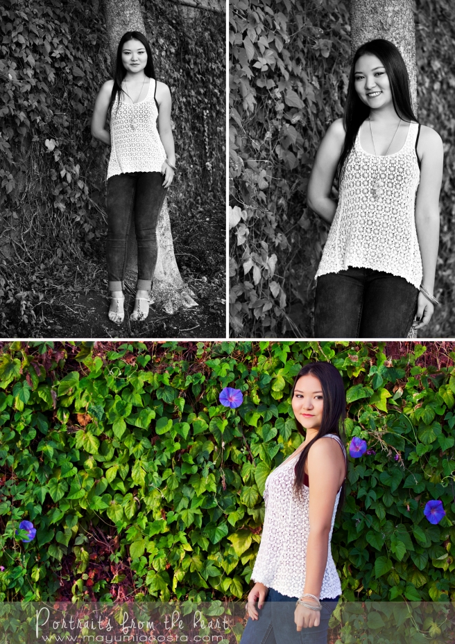Juniors and High School Seniors, ultimate photo experience, lifestyle photo shoot, golden hour, Inderkum high School, Junior student, exchange student, candid and fresh portraits, Mayumi Acosta Photography, Natomas Regional Park, North Natomas, Sacramento CA. Makeover and Photo Shoot, Makeup and hair styling, Photographer in Sacramento California, Wall with Vines, end of summer photo session, autumn photo shoot, Portraits from the heart, Mayumi Acosta Photography, Natomas in Sacramento California