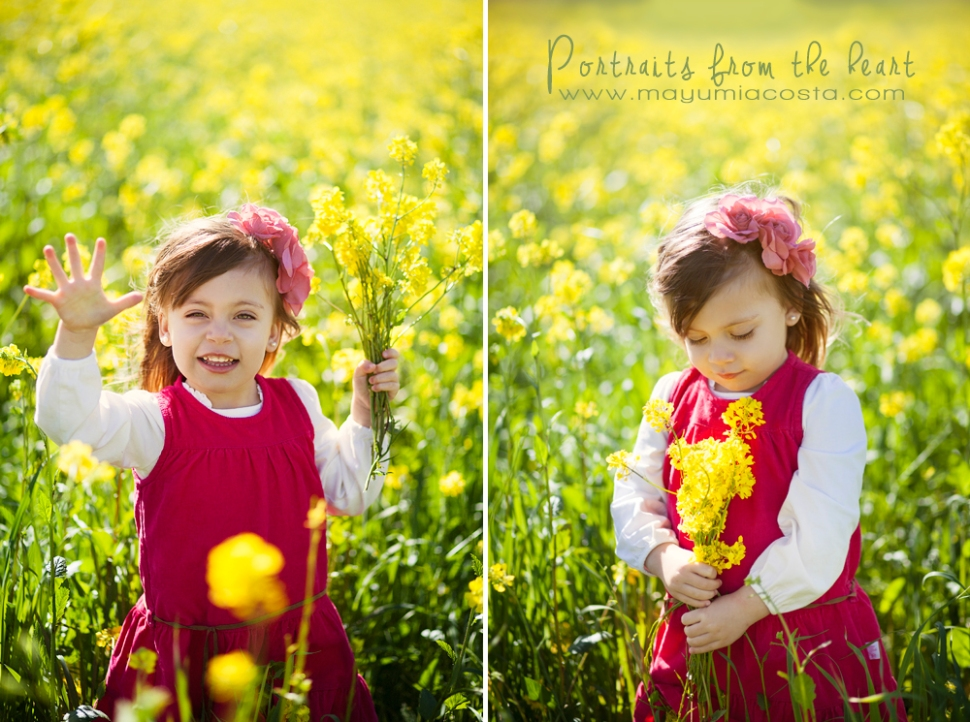 Spring Children Portraits in Sacramento CA