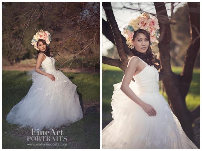 Unique Portraits, Fine art Portraiture, Mayumi Acosta Photography, Sacramento Photographer, UC Davis arboretum, Artistic Portraits, Davis CA Photographer