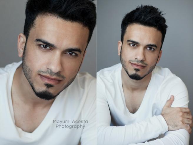 Actor Headshot by Sacramento Photographer Mayumi Acosta