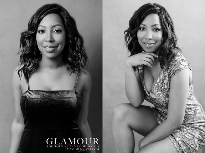 Beautiful Glamour Portrait by Sacramento Photographer Mayumi Acosta